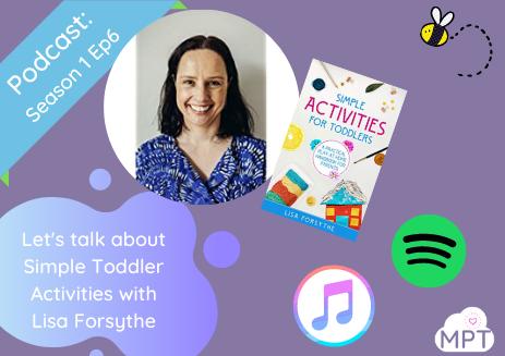 Lisa Forsythe, toddler activities