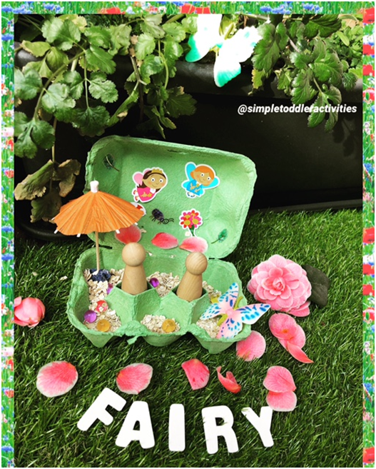 Upcycled toddler activity