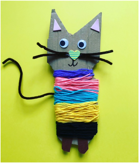 upcycling toddler activity