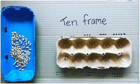ten frame for math learning