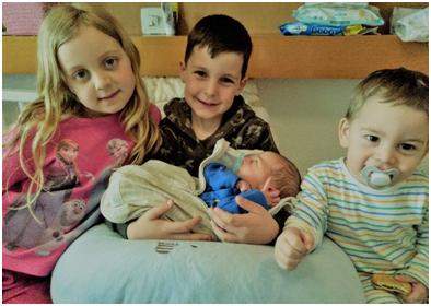 preparing siblings for new baby