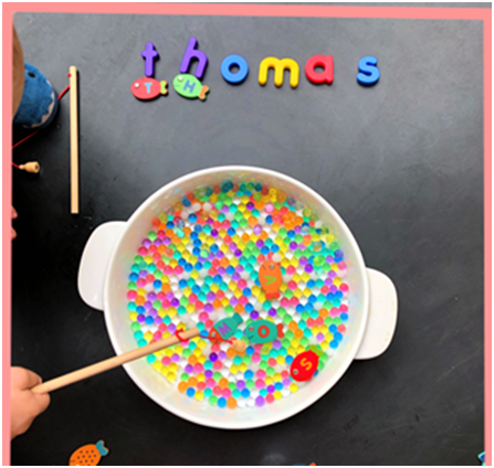 water bead letter search