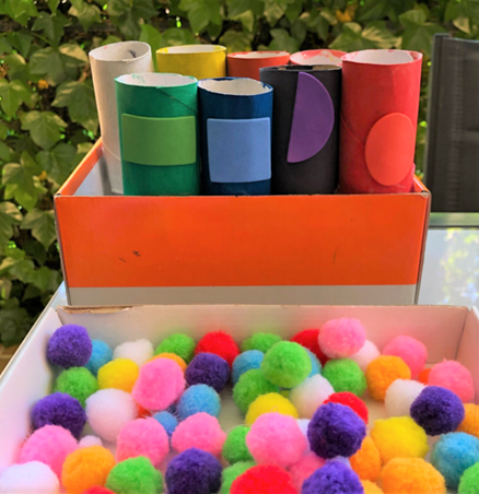 pom pom fine motor activities for toddlers