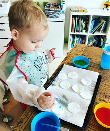 water transfer activities for toddlers